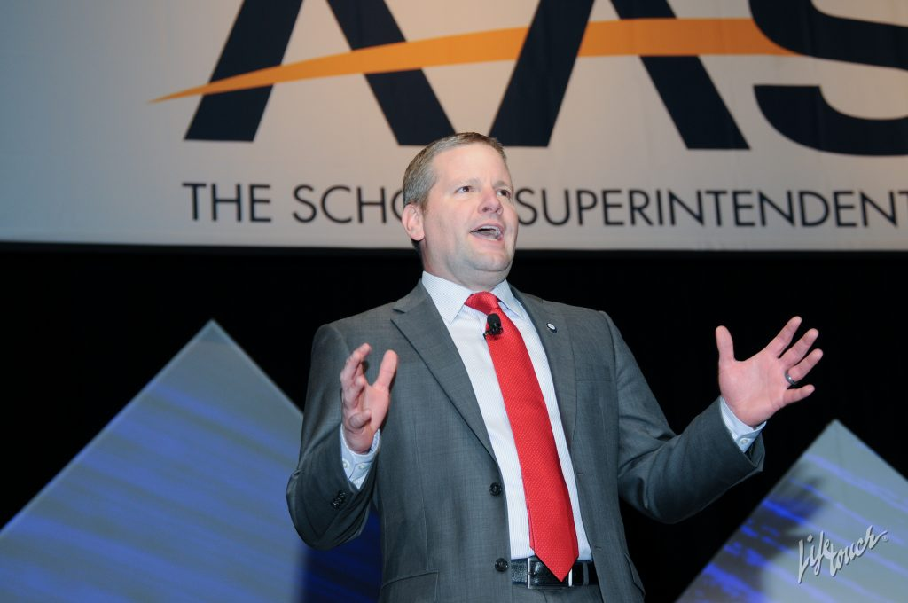 AASA President David R. Schuler presenting at our 2016 National Conference on Education